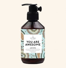 The Gift Label Handlotion You Are Awesome