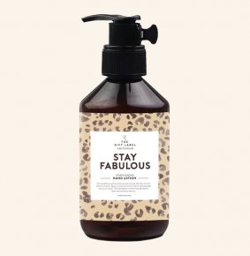 The Gift Label Handlotion Stay Fabulous